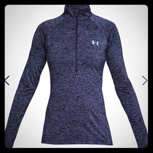 Under Armour pull over half zip L